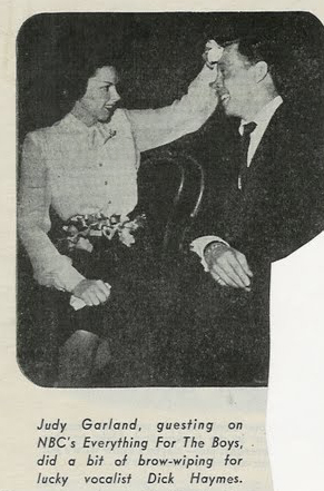 December 26, 1944 Judy and Dick Haymes