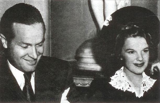 September 1939 Bob Hope and Judy Garland in 1939