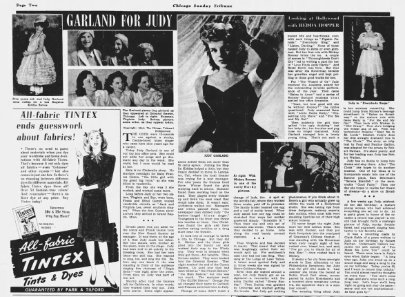 December-10,-1944-GARLAND-FOR-JUDY-Chicago_Tribune