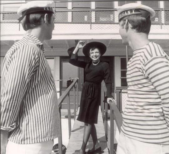 September 5, 1968 at Pier 4 in Boston
