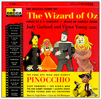 The Wizard of Oz Pinocchio