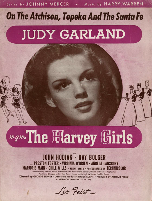 The-Harvey-Girls-Sheet-Music