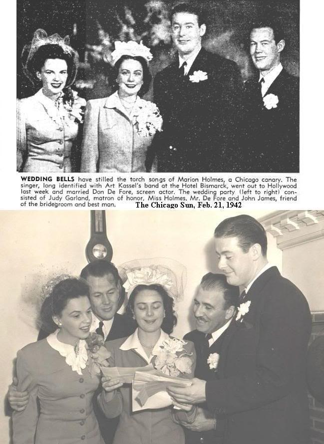 February 14, 1942 at DeFore Wedding