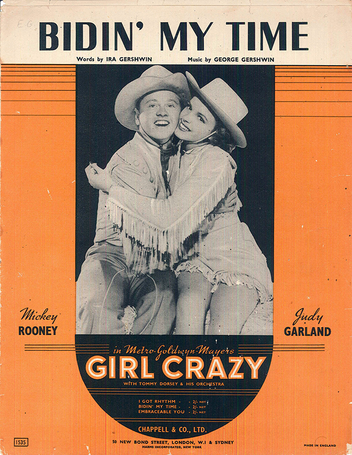 Girl-Crazy-Sheet-Music-Bidin-My-Time