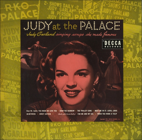 Judy at The Palace Decca Records