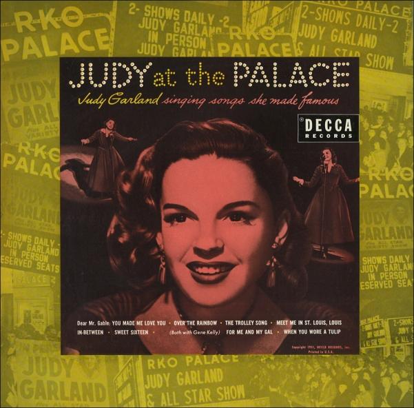 Judy at The Palace Decca Records