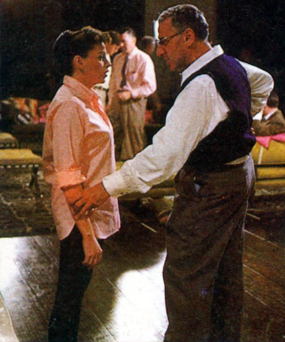 Judy-Garland-and-George-Cukor-A-Star-Is-Born