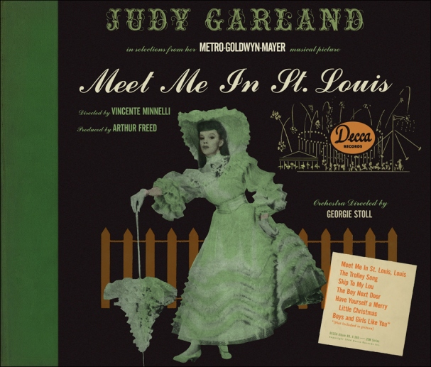 Meet Me In St Louis Decca Records Green Cover
