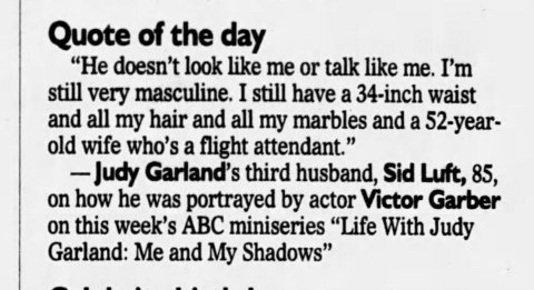 March 1, 2001 SID LUFT DOESN'T LIKE VICTOR GARBER The_Atlanta_Constitution