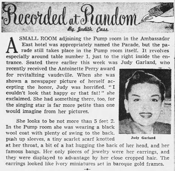 April-5,-1952-PUMP-ROOM-TONY-AWARD-Chicago_Tribune