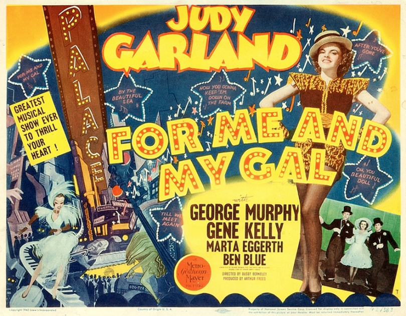 Lobby Card For Me And My Gal FX